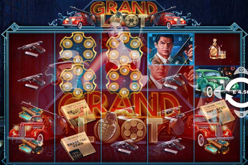 Pariplay has released new gangster slot Grand Loot