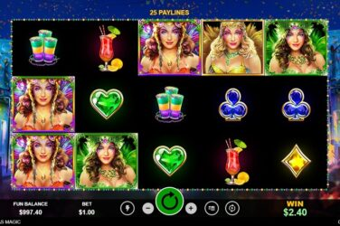 Free Spins Welcome Bonus And Free Coupon Code For Mardi Gras Magic Slot