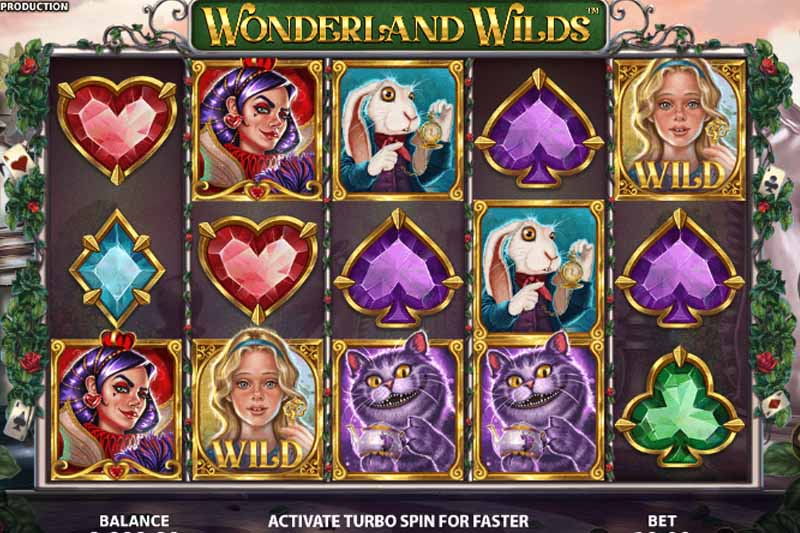 Stakelogic releases new slot game Wonderland Wilds with free spins