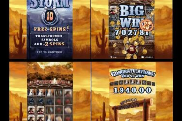 New Slot Release By Genesis Gaming: Storm Rider