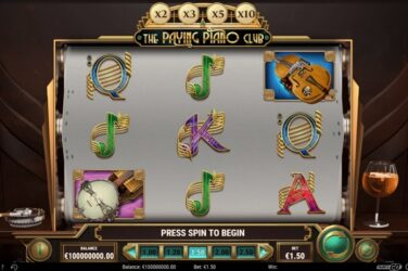 New Slot Release By Play'n GO: The Paying Piano Club
