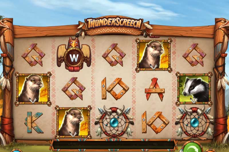 ThunderScreech is the new game release from Play'n GO
