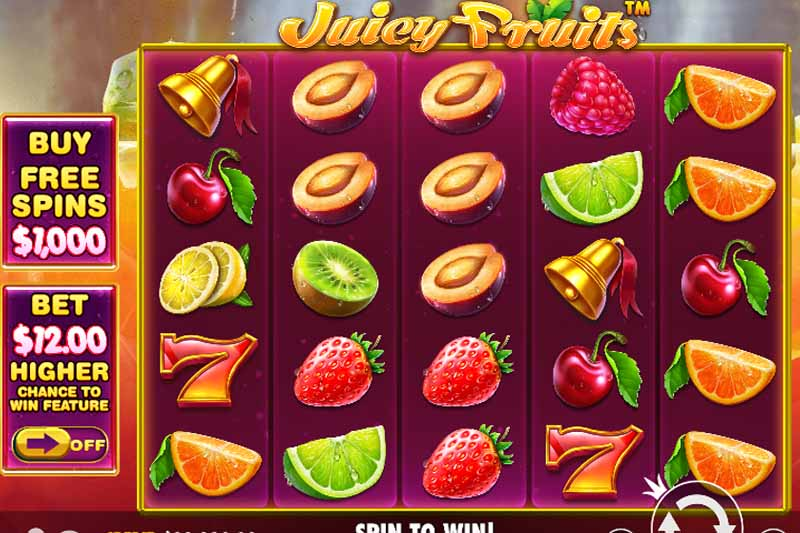 Spelers lessen hun dorst met Juicy Fruits van PragmaticPlay