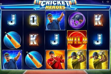 Is Cricket Heroes from Endorphina the best ever cricket slot?