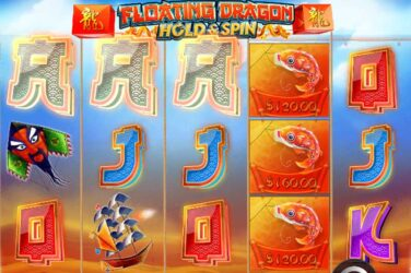 New hold and spin slot Floating Dragon by PragmaticPlay goes live