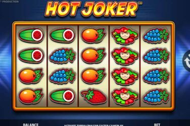 New Hot Joker slot game by Stakelogic goes live