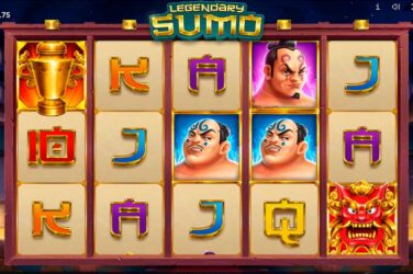 Fight a Japanese sumo in the new Legendary Sumo slot