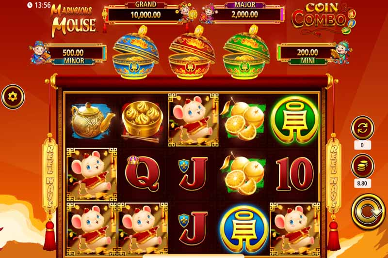 Marvelous Mouse is the new coin combo slot every player is talking about