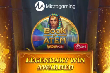 Microgaming announces first ever Mega win WowPot jackpot of €17 million