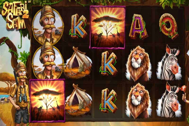 Betsoft's safari sequel slot Safari Sam 2 has landed