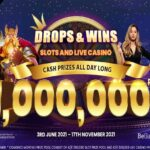 Win a share of €1 million every month with live casino and slots