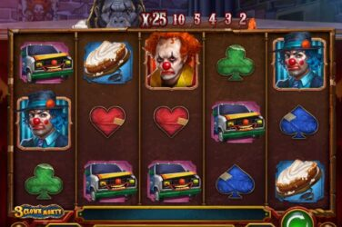 Play'n Go send inn klovnene med 3 Clown Monty slot