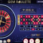 What is the new roulette variant Gem Roulette from iSoftBet?