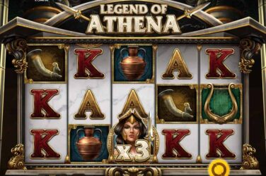 Slåss om Grecian glory med Red Tiger's Legend Of Athena slot