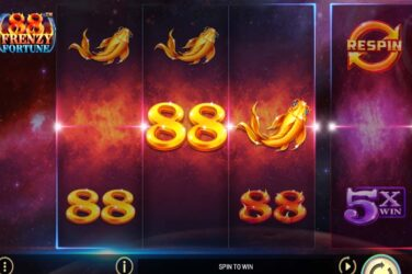 88 Frenzy Fortune is the new Asian slot release by Betsoft