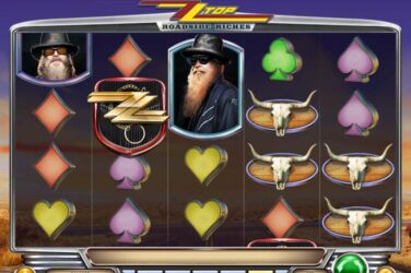 Tour America with legendary rock band ZZ Top in Play'n Go's new slot release